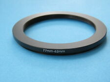 77mm to 62mm Step Down Step-Down Ring Camera Filter Adapter Ring 77mm-62mm