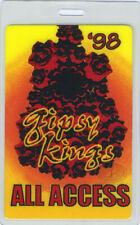 GIPSY KINGS 1998 LAMINATED BACKSTAGE PASS