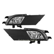 For 15 16 Volkswagen VW Jetta MK4 Fog Lights Kit Bumper Lamps Clear FL7102