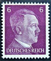 WW2 REAL NAZI 3rd REICH ERA GERMAN STAMP ADOLF HITLER REICHSKANZLER 6rf MNH