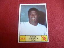 PANINI Campioni dello Sport 1968-69 #313 BOXING EMILE GRIFFITH (USA)