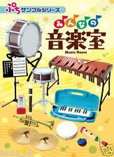 Re-ment Miniature Miniature School Music Room Set rement Full Set of 8
