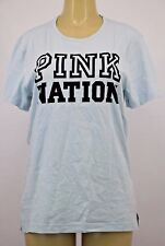 NWT Victoria's Secret PINK  GRAPHIC  SHORT SLEEVE SHIRT SMALL +E623