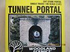 WOODLAND SCENICS HO SCALE Tunnel Portal-Cut Stone Portal,Single Track #C1253~NIB