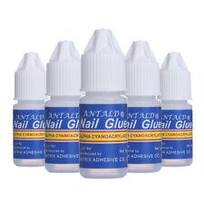 3Pcs 3g Nail Glue for Nail Art False Tips Rhinestones Gems Crafts PRO Adhesive