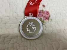 2019-2020 England Premier League Champions Liverpool Winner Medal With Ribbon