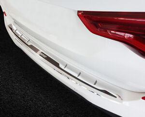 Ladekantenschutz Edelstahl Carbon Silber Schwarz für BMW X3 G01 M-paket ab 2017