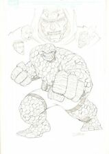 Fantastic Four with Doctor Doom Commission - 2004 Signed art by Ron Lim Comic Art