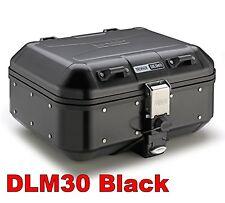 GIVI TREKKER DOLOMITI DLM30 GIVI BLACK ALLUMINIO VALIGIA BAULE MONOKEY 30 lt.