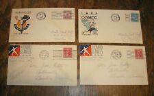 Vintage 1932 Los Angeles Olympic First Day Cover (4)