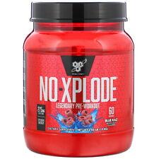 BSN  N O -Xplode  Legendary Pre-Workout  Blue Raz  2 45 lb  1 11 kg
