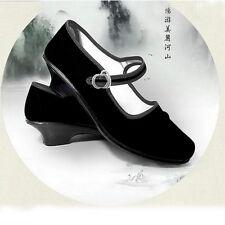 Women Cotton  Dance Chinese embroidery shoes Women shoes Ballarina Flats  L