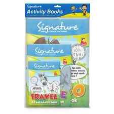 3pk attività assortiti libri da colorare libro di viaggio wordsearch Per Bambini Festa OTL