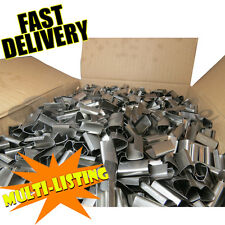 More details for heavy duty metal hand pallet strapping binding seals 12mm x 25mm *all qtys*