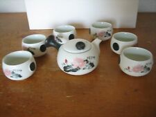 Jingdezhen Chinese Ceramic Kung Fu Tea Set,Porcelain Gongfu Tea Pot Cups Set