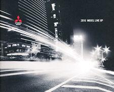 2016 Mitsubishi 24-page Car Sales Brochure Catalog - i-MiEV Outlander Lancer
