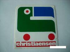 AUTOCOLLANT sticker  *CHRISTIAENSEN* rare magasin jouet
