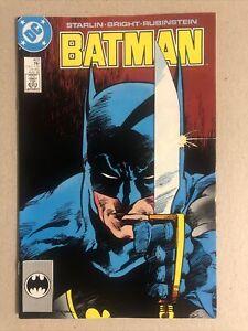BATMAN #422 DC Comics 1989. Nice Copy!
