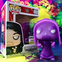 Phantom Undertaker Purple Glow-in-the-Dark Amazon Exclusive WWE Funko POP! #69