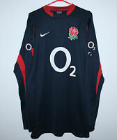 England national rugby union team shirt jersey jumper Nike Size XL Long Sleeves