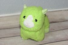 "Animal Adventure Lime Green Llama Lamb 2018 Chamois Easter 7"" Plush Sheep Toy"