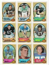 *1970 Topps Football PICK LOT-You Pick any 1 of 53 cards for $1! 50 years old!*