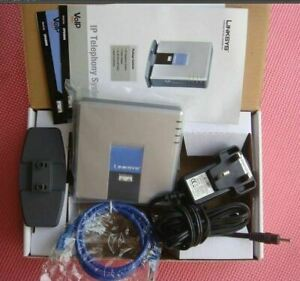 Brand Factory Unlocked Linksys PAP2-NA PAP2T PAP2T-Na ATA phone adapter SIP VOIP