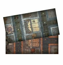 "NEW know no fear gaming mat double sided playing board  22"" x 43"""