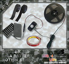 Motion Sensor, Power Supply and Accessories for Gun Safe Lights