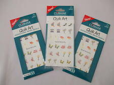 3 Cards Of Nail Art Decals Social Butterfly Mix New