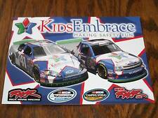 CHRISSY WALLACE / RWR KIDS EMBRACE 2010 NASCAR POSTCARD
