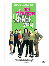 BRAND NEW 10 Things I Hate About You WIDESCREEN DVD, 1999. HEATH LEDGER
