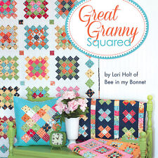 GREAT GRANNY SQUARED Four Projects Plus Two Quilt Labels NEW BOOK Lori Holt