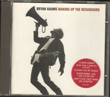 BRYAN ADAMS Waking Up The Neighbours NEW CD 15 track LYRICS Booklet 20 page