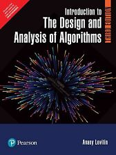 Introduction to the Design and Analysis of Algorithms, 3e by Levitin