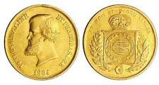 Brésil - Pedro II (1831-1889) - 10000 reis 1884