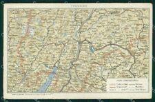 Cartina Trentino Alto Adige Dettagliata.Cartina Della In Vendita Trentino Alto Adige Ebay