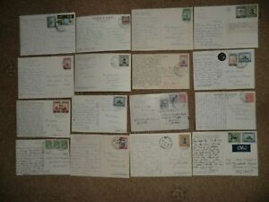 Jordan- Variety Of Stamps Used On Different Postcards Mainly 1950s/60s See Scans