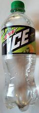NEW Mountain Dew Ice Lemon Lime Flavored Soda 20 oz FREE WORLDWIDE SHIPPING