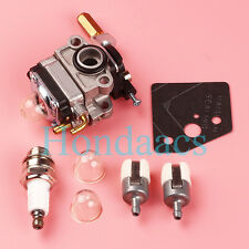 Carburetor Tune Up Kit for Troy-Bilt TB26TB TB475SS TB490BC TB425CS Trimmer Carb