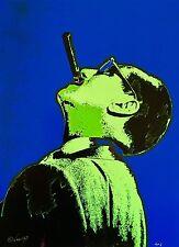 RARE Original Painting GROUCHO MARX - VANCAS Pop Art Modern MIDCENTURY 20X24