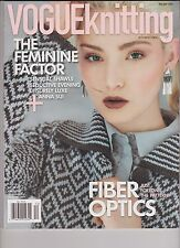 VOGUE KNITTING INTERNATIONAL Magazine Holiday 2013, FIBER OPTICS.