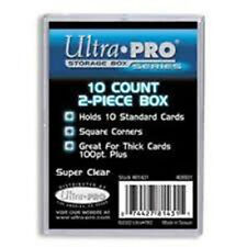 ULTRA PRO 10 CARD 2 PIECE HEAVY DUTY STORAGE BOX