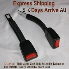 one Rigid Stem Seat Belt Extender Extension For TOYOTA Camry COROLLA Front seat