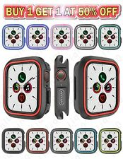 38 40 42 44mm Apple Watch iWatch Series 5 4 3 2 1 Ruber Silicone Soft Case Cover