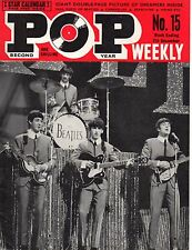 Pop Weekly Magazine 7 December 1963   The Beatles   The Hollies   The Caravelles