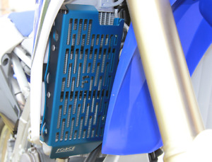 Blue FORCE Radiator Guards Fit Yamaha WR450F 2012 2013 2014 2015