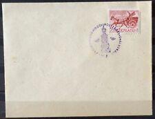 NEDERLAND; NVPH 422 op brief met spec. stempel DAG VAN DE POSTZEGEL 9-10-1943