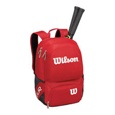 WILSON V Tour Red Medium Tennis Zaino 2018, ideale per viaggi palestra, padel