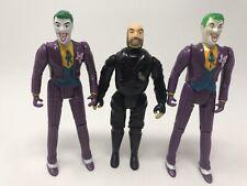 Vintage 1989 Kenner Batman 2 Joker And Bob Henchman Action Figure Toy